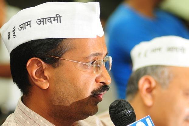 The founder of AAP-Arvind Kejriwal
