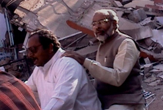 Opportunistic Modi: Using the Bhuj Earthquake in 2001