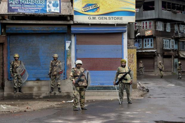 Extended Shutdowns and Curfews in Kashmir